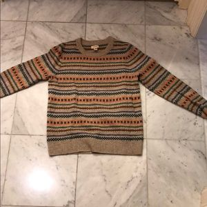 J. Crew Cashmere and Wool Crew Neck Sweater